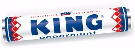 King: holländische Pfefferminz-Bonbons